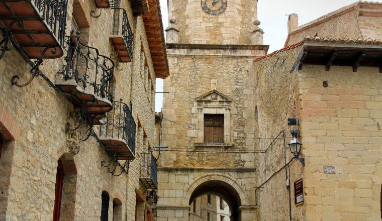 Cantavieja village Teruel province Aragon El Maestrazgo county S