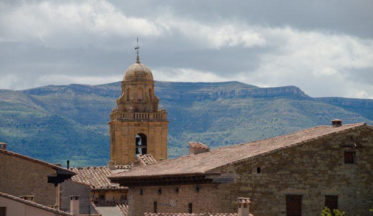 Mirambel rooftops