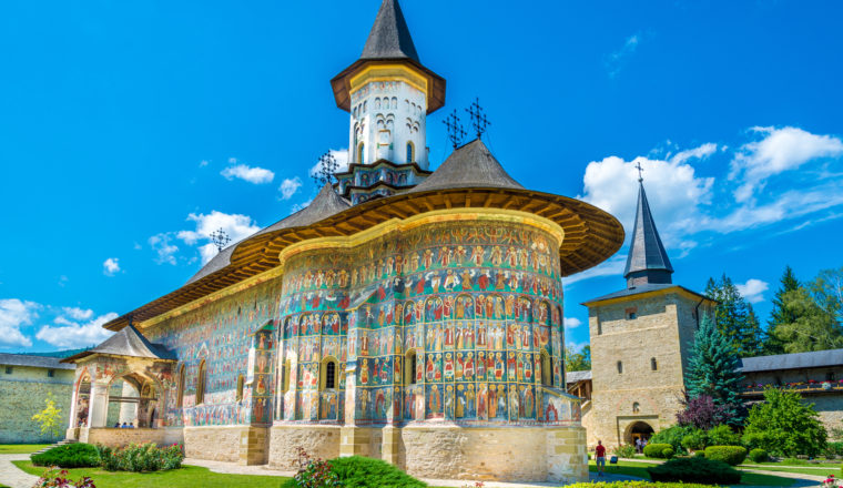 The Painted Monasteries of Romania