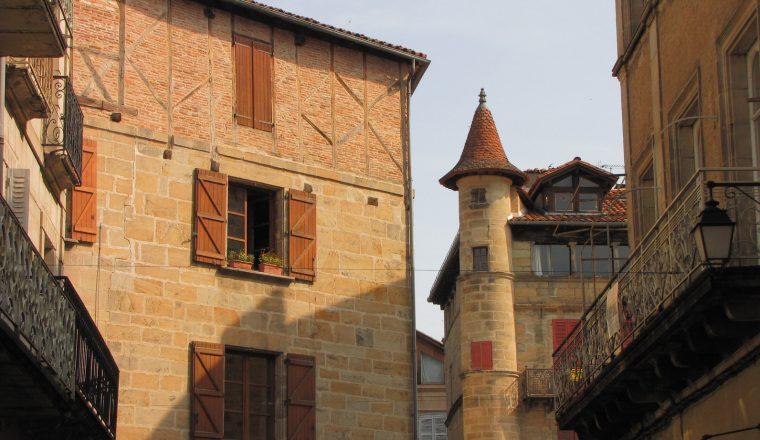 Ville de Figeac ; Lot ; Haut-Quercy ; Midi-Pyrénées