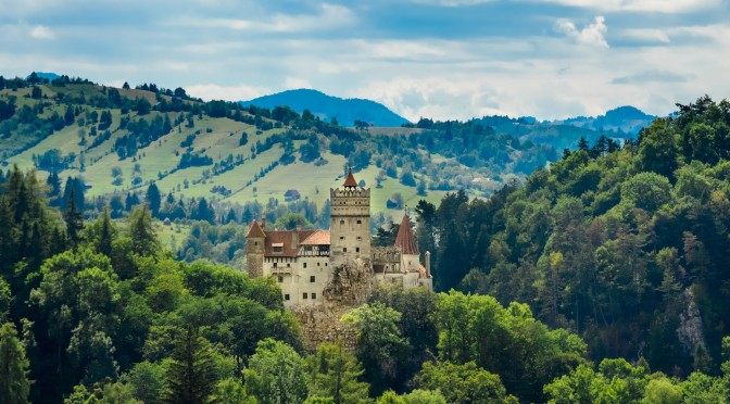 Dracula's Lair and the Carpathian Mountains