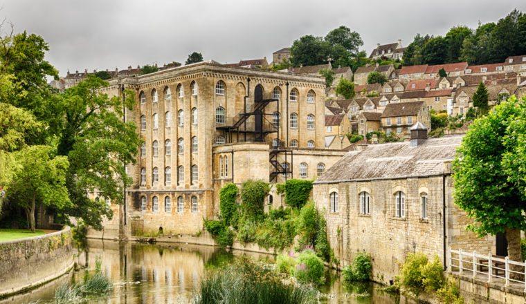 Old mill, Bradford on Avon, Wiltshire, England