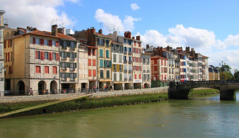 Les rives de l'Adour, Bayonne