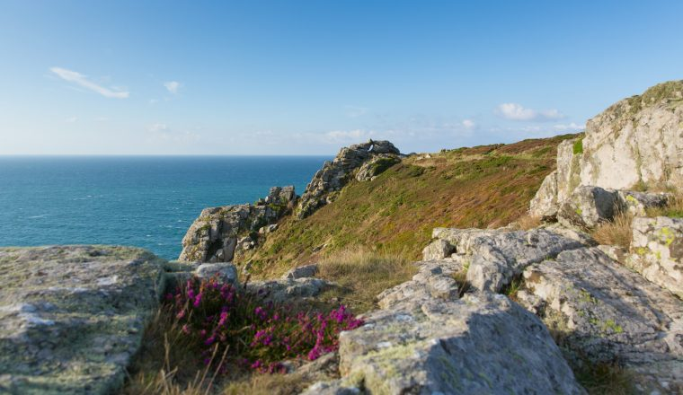 Zennor Head promontory Cornwall England UK near St Ives