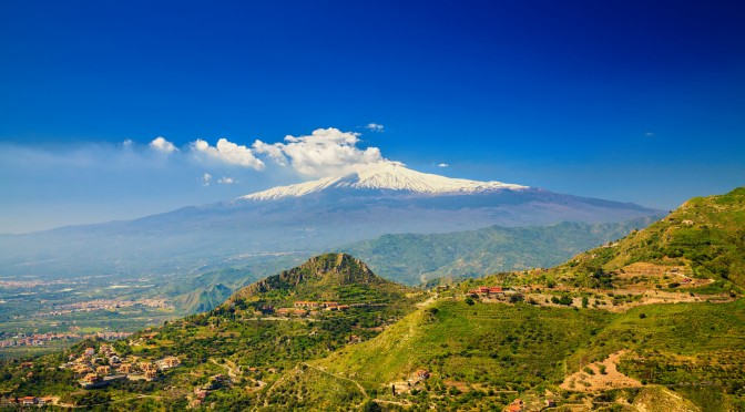 Sicily – Mt. Etna and the Aeolian Islands