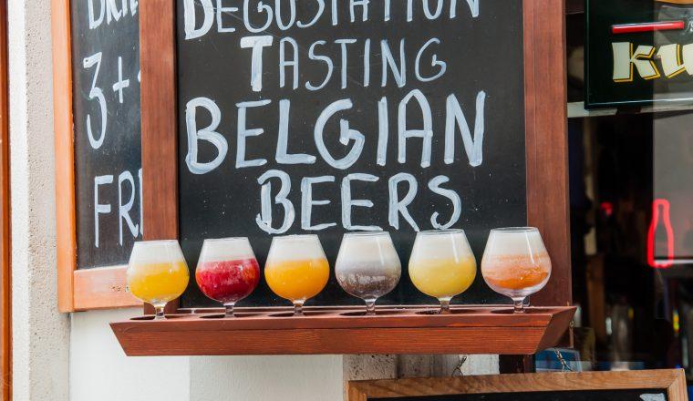 Birra di Bruxelles in Belgio