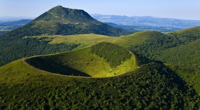 The Auvergne Volcanos