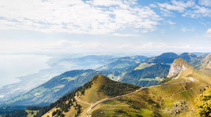 The Via Alpina, Stage 3: Lenk to Montreux