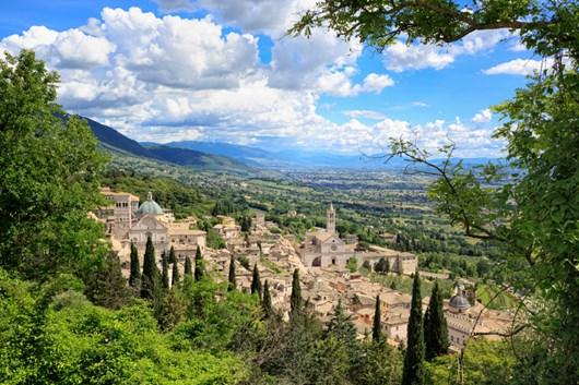 Umbria – Classic Umbria (easiest option)