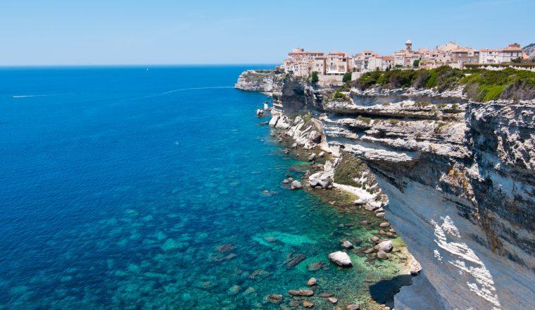 Festung Bonifacio Korsika
