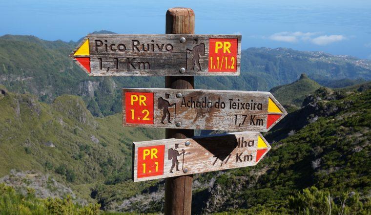 Wegweiser Madeira
