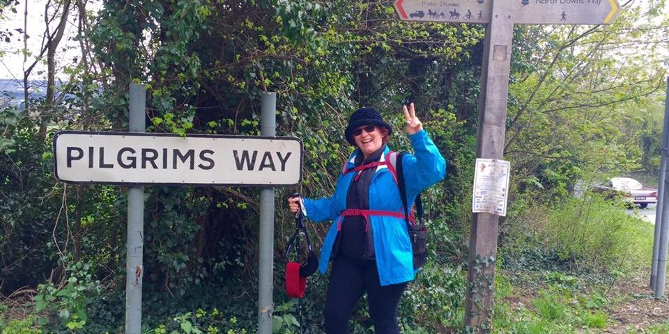 The Pilgrims Way from Rochester to Canterbury