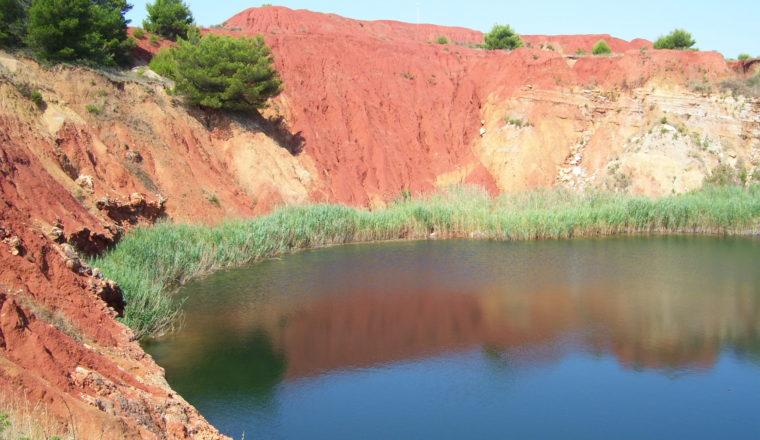 laghetto di bauxite- Otranto - www.salentobicitour.org