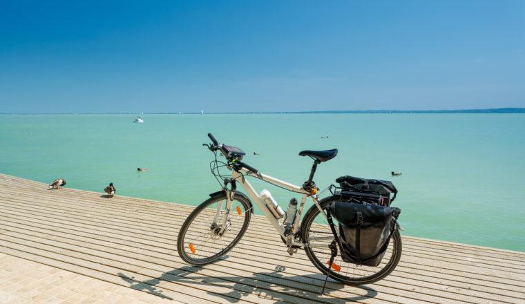 Lake Balaton cycling