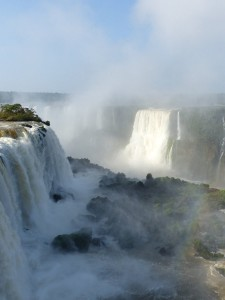 Igauza waterfalls on the Brazil Argentina border