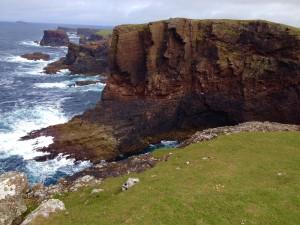The Eshaness Cliffs, Shetland Island