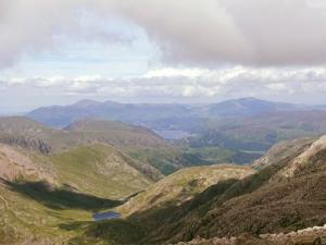 Val Haynes - Climbing Scafell Pike in Lake District - highest mountain in England